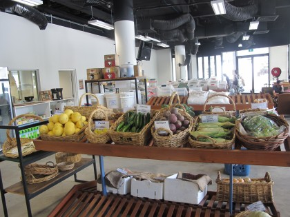 Co-op produce and dried goods